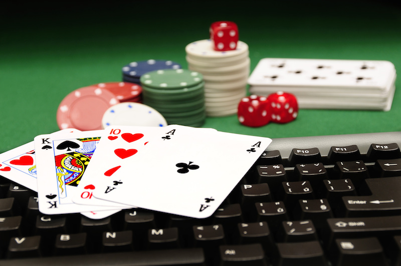 forms of online gambling